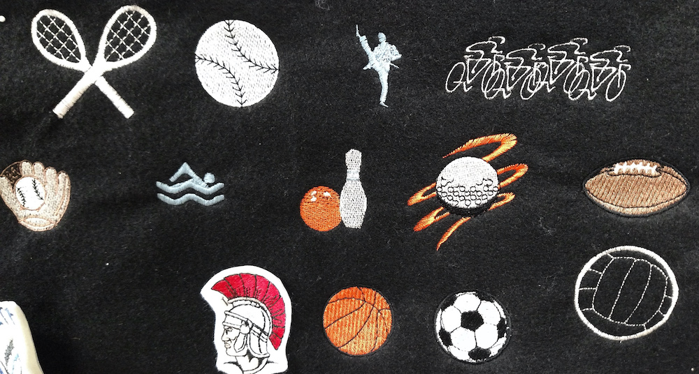 Sports Embroidery